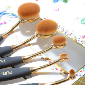 Sweet 16 Party Essentials 5pc Limited-Edition Cruelty-Free Skin Perfecting Brush Set