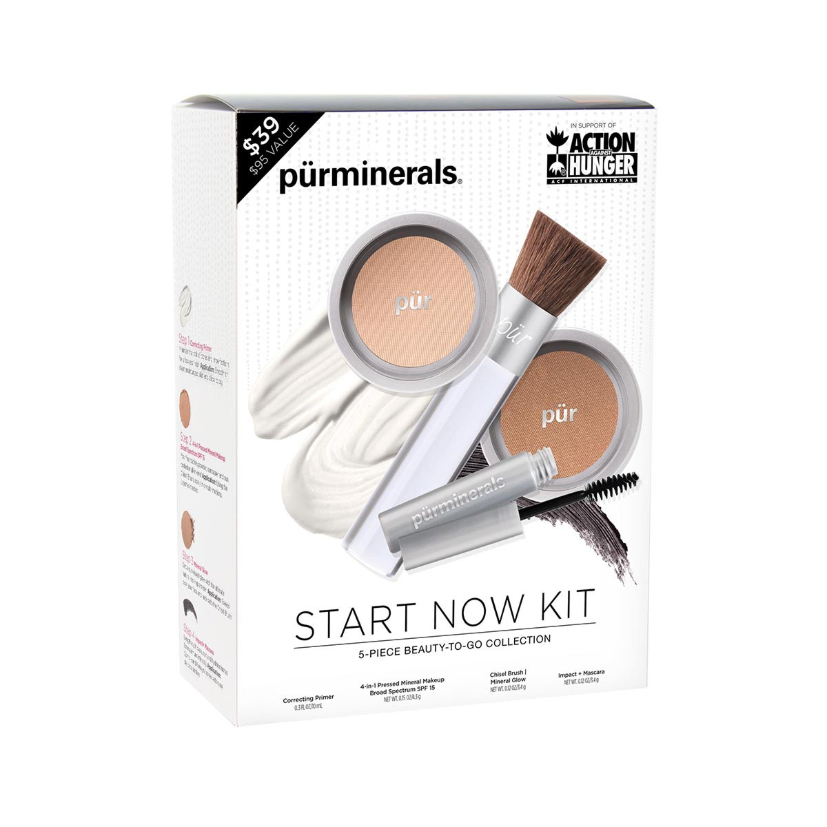 Start Now 5-Piece Beauty-to-Go Collection Porcelain