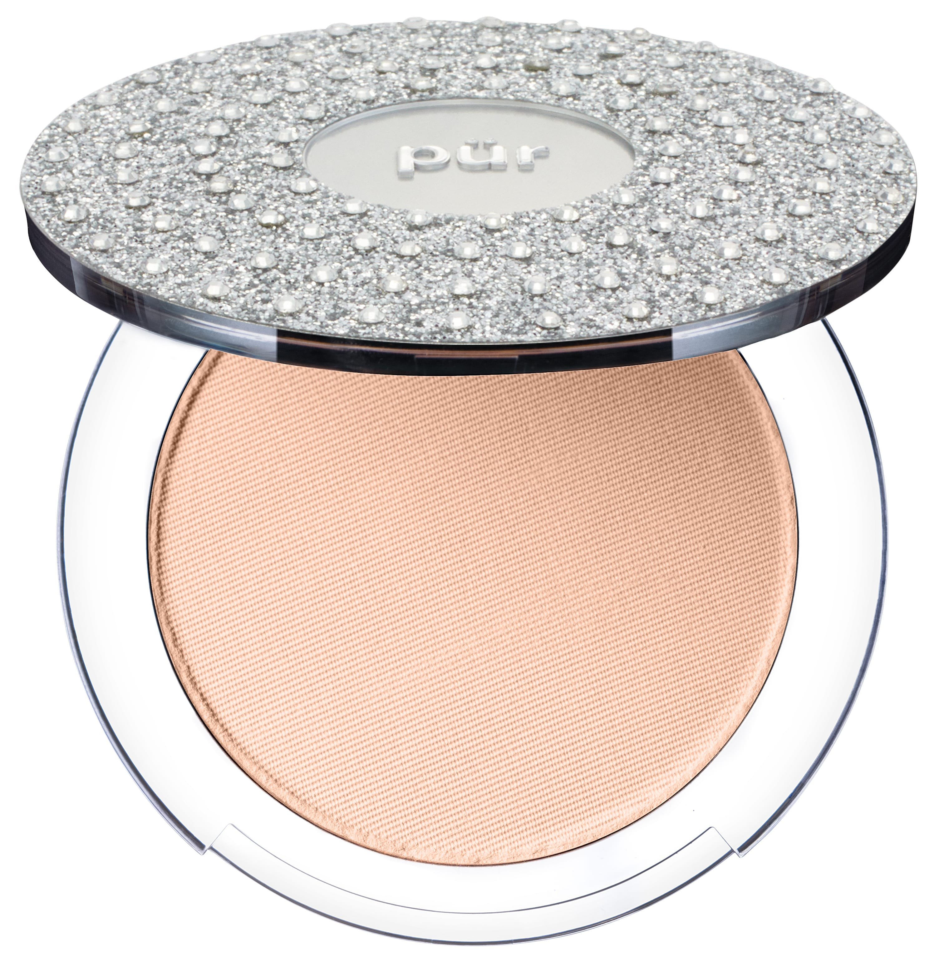 4-in-1 Pressed Mineral Makeup Foundation with Skincare Ingredients Light