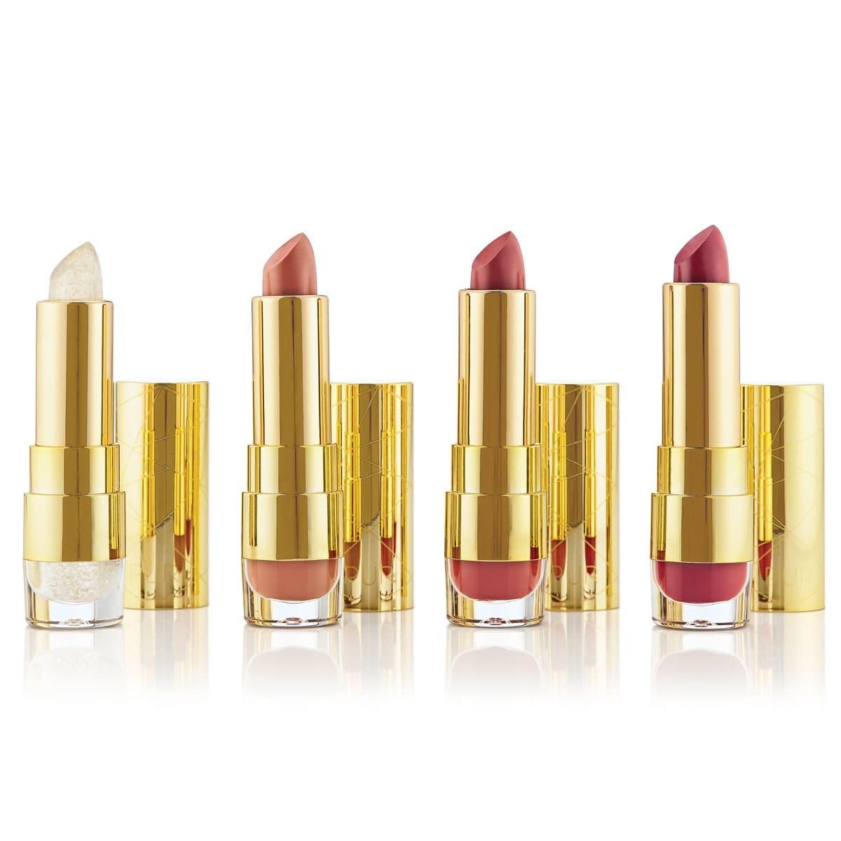 Sweet 16 Kiss of Confidence Lipstick Trio + Lip Balm Set