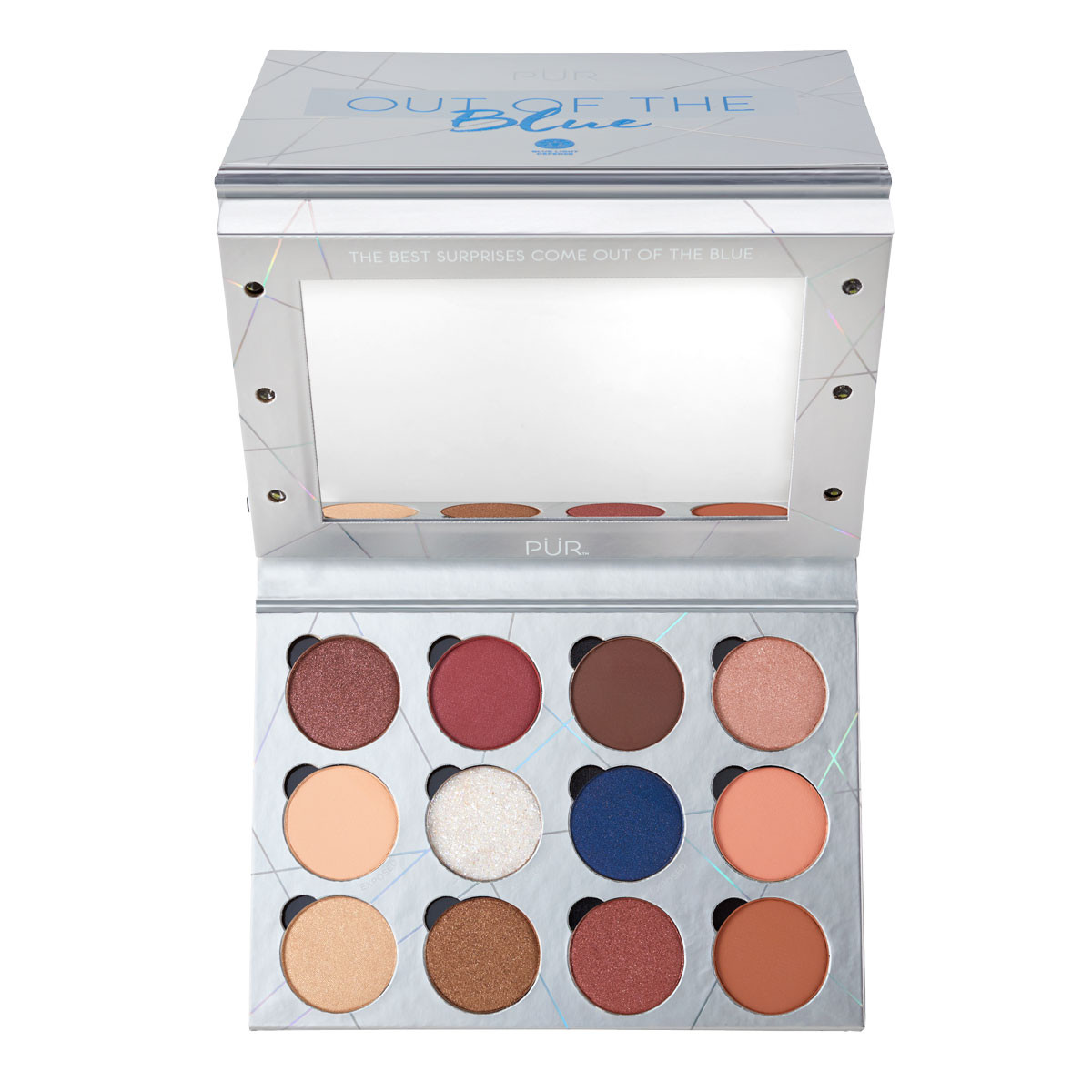 Out of the Blue Light Up Vanity Eyeshadow Palette