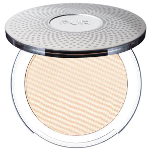 4-in-1 Pressed Mineral Makeup Foundation with Skincare Ingredients Light Porcelain/LG2