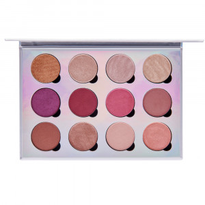 Extreme Visionary 12-Piece Magnetic Eyeshadow Palette with Hemp