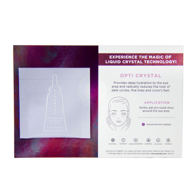 Opti Crystal Sample Card Front